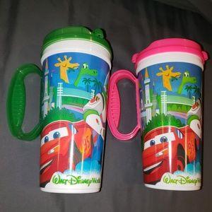 Disney World Souvenir Mug Refillable Whirley
